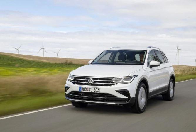 Volkswagen Tiguan eHybrid, новый
