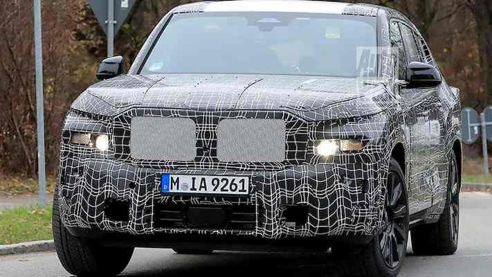 BMW X8, прототип