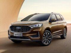 В Китае представлен обновленный кроссовер Ford Edge Plus