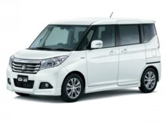 Mitsubishi презентовал микровэн Delica D:2 нового поколения
