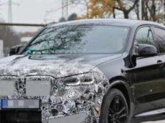 Новый купеобразный BMW X4 M замечен во время тестов