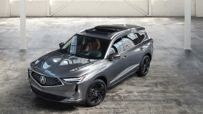 Acura MDX 2022 года