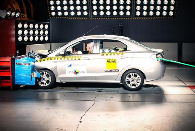 Ford Ka, седан, краш-тест