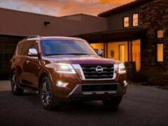 Nissan представил американскую версию обновленного Patrol