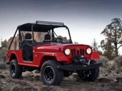 Mahindra добилась права продавать в США Roxor 2021 — копию Wrangler