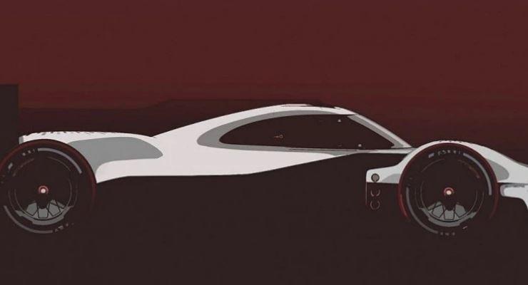 Porsche, новый суперкар