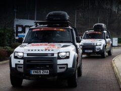 Новый Land Rover Defender отправится на ралли «Дакар»