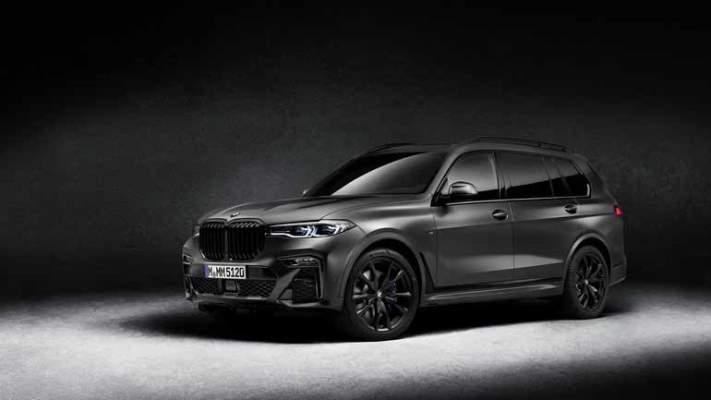 BMW X7 Dark Shadow, новый внедорожник