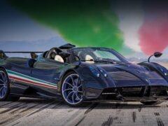 Pagani представила суперкар Huayra Tricolore в честь итальянских летчиков