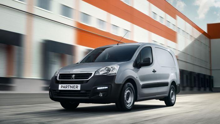 Peugeot Partner, фургон второго поколения