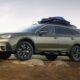 В Сети появились первые рендеры нового Subaru Outback