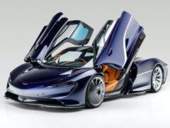 Гибридный McLaren Speedtail 2020 года предложат на аукционе в США