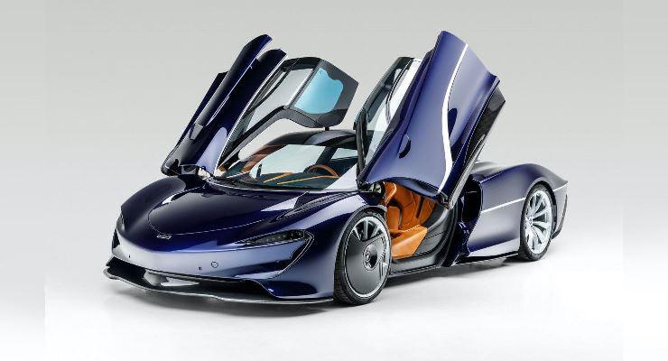 McLaren Speedtail 2020 года