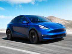 Базовая версия Tesla Model Y уже доступна по цене от $41 990