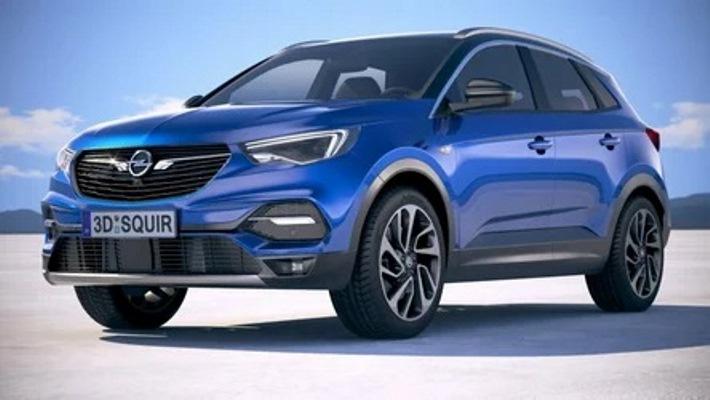 Opel Grandland 2022, рендер, дизайн