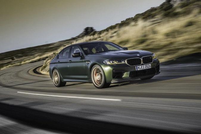 BMW M5 CS, мощный седан