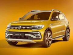 Компактный кроссовер Volkswagen Taigun тестируют в Индии