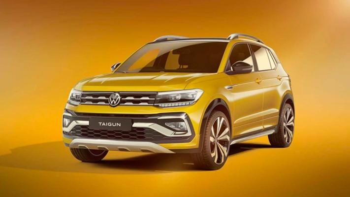 Volkswagen Taigun, кроссовер