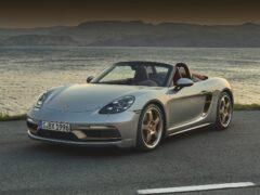 Porsche выпустил юбилейную версию Boxster 25 Years