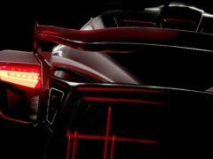 Компания Picasso Automotive показала тизер своего первого суперкара