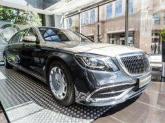 В России продают лимузин Mercedes-Maybach Pullman S 650 за 58 млн рублей