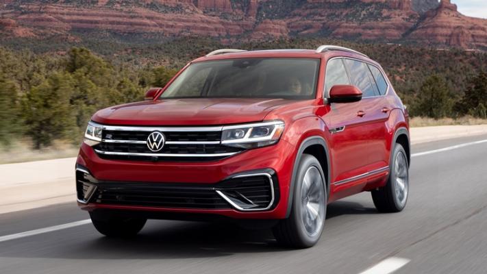 Volkswagen Teramont, обновленный внедорожник
