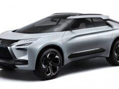 Новый кроссовер Mitsubishi показали на рендере