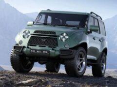 Появились рендеры нового УАЗ «Хантер» и «Буханки» второго поколения
