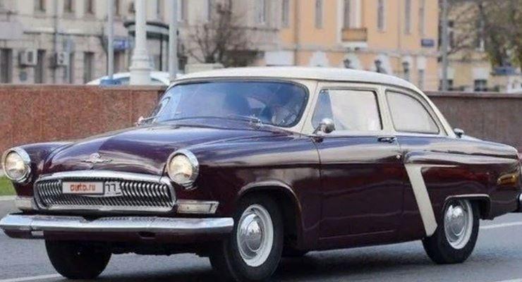 ГАЗ-21 в кузове купе