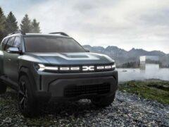 Появились изображения внедорожника Dacia Bigster 2025 года
