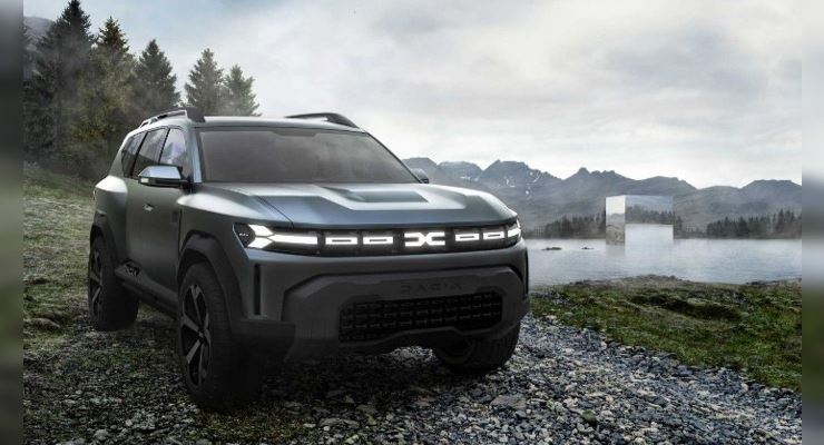 Dacia Bigster 2025 года