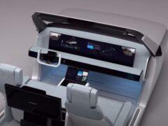 Компания Samsung показала концепцию автомобиля будущего