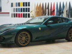 Ferrari представила роскошный 812 Superfast с особым декором