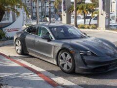 Porsche Taycan установил новый рекорд в состязании «пушечных ядер»