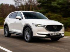 Подробности об обновленном кроссовере Mazda CX-5
