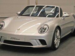 Вальтер де Сильва опубликовал фотографии родстера Porsche 55One