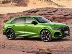Объявлена российская цена кроссовера Audi RS Q8