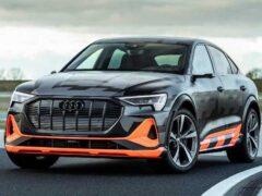 Audi анонсировала выход модели e-tron GT