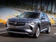 Компания Buick привезла в США новый кроссовер Envision