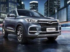 Chery Tiggo 4 стал самым продаваемым китайским автомобилем в России