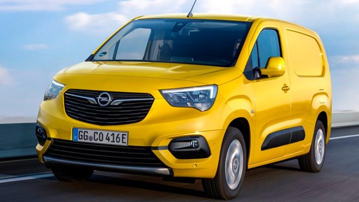 Opel Combo-e, электрический фургон