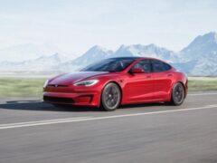 Tesla представила обновленный седан Model S