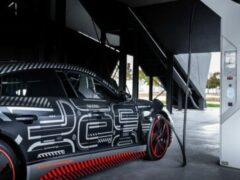 582-сильный Audi e-tron GT 2021 года будет представлен 9 февраля