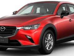 Компания Mazda обновила кроссовер Mazda CX-3