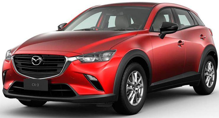 Mazda CX-3, кроссовер, обновленный