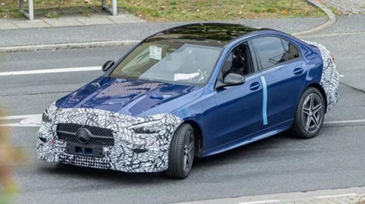Mercedes-Benz C-Class, обновленный