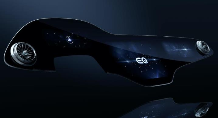 Mercedes-Benz, гиперэкран для EQS