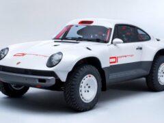 Из спорткара Porsche 911 сделали экстремальный внедорожник