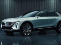 Электрокар Cadillac Lyriq представили на онлайн-выставке CES 2021