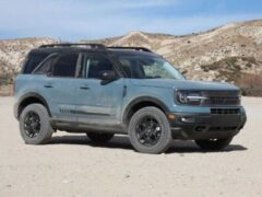 Ford выпускает «выращенный козами» внедорожник Bronco Sport